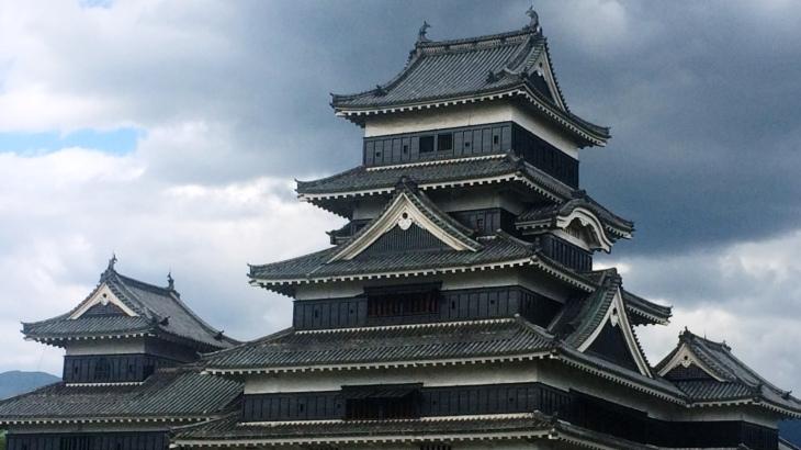 松本城[天守、乾小天守、渡櫓、辰巳附櫓、月見櫓]