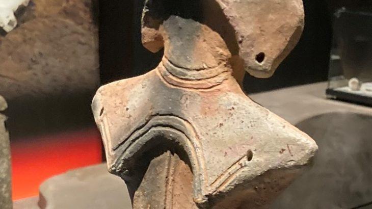 土偶 縄文の女神[山形県立博物館]