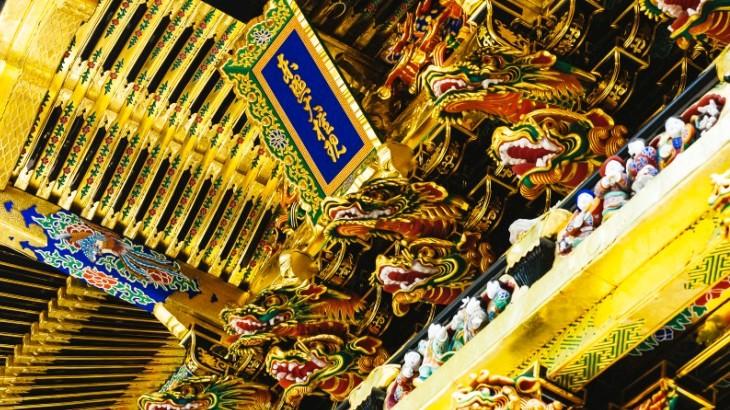 日光東照宮(本殿、陽明門、廻廊など)