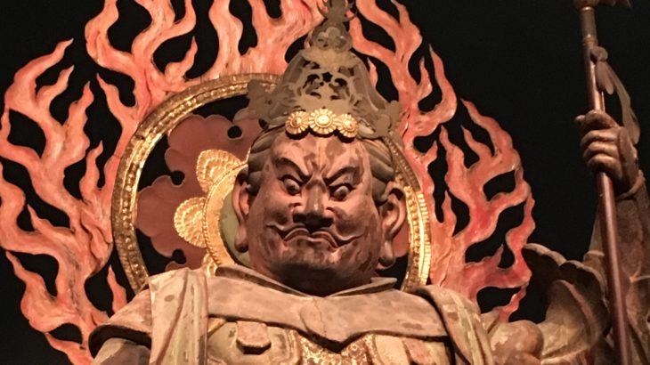 四天王立像[浄瑠璃寺/京都]