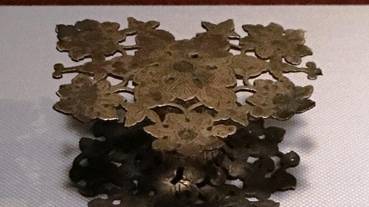 金銅墨床[法隆寺献納/東京国立博物館]