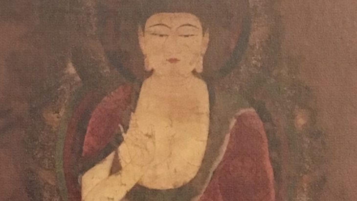 釈迦如来像(赤釈迦)[神護寺/京都]
