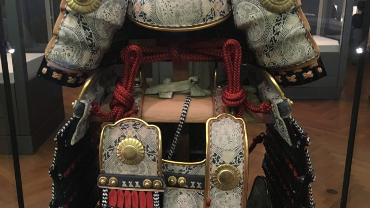赤絲威鎧(兜・大袖付)[武蔵御岳神社/東京青梅]