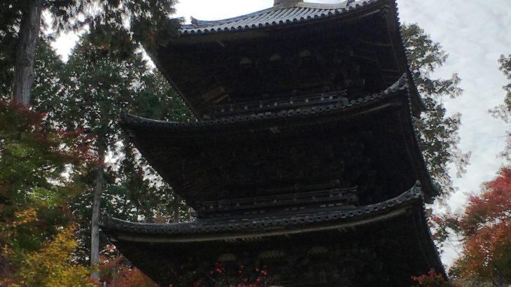 常楽寺 三重塔[滋賀]