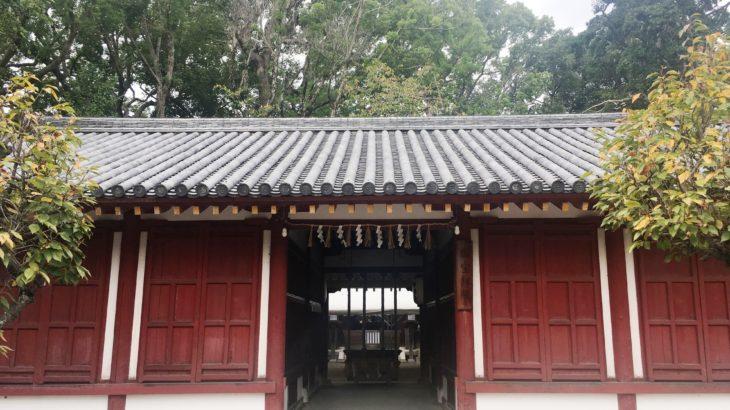 桜井神社 拝殿[大阪]