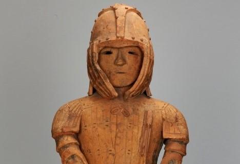 埴輪 武装男子立像[東京国立博物館]