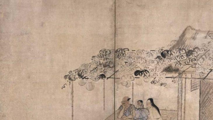 納涼図屏風[東京国立博物館]