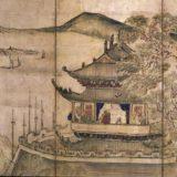 楼閣山水図(池大雅筆)[東京国立博物館]
