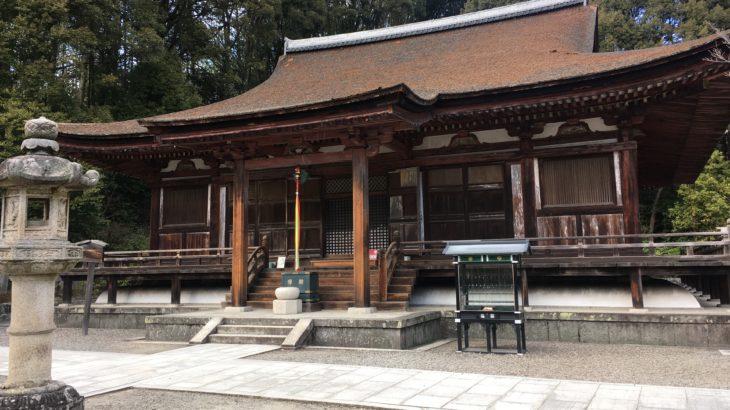 長弓寺 本堂[奈良]